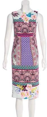 Etro Printed Sheath Dress