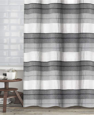 "Popular Bath Hellen Cotton Stripe 72"" x 72"" Shower Curtain Bedding"