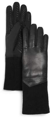 URBAN RESEARCH U/R Leather Tech Gloves