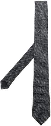 Saint Laurent classic embroidered tie