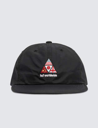 Competition Snapback Cap In Black - Black HUF