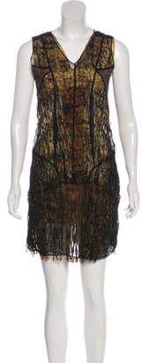 Bottega Veneta Lace Sleeveless Dress