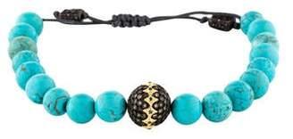 Armenta Dyed Magnesite & Diamond Bead Bracelet