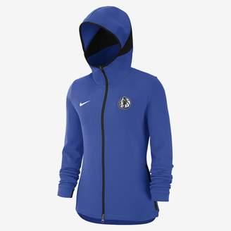 Nike Dallas Mavericks Dri-FIT Showtime Women's NBA Hoodie