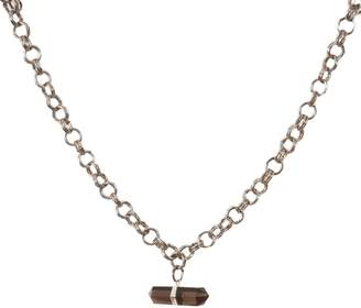 Tiana Jewel - Goddess Choker Smokey Quartz Necklace