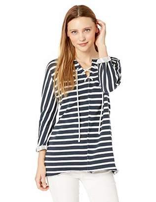 Jag Jeans Women s Debbie Lace up Sweatshirt 5ce02fec5