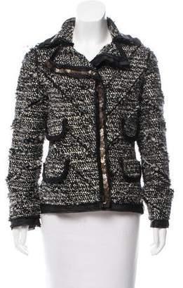 J. Mendel Embellished Bouclé Jacket