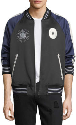 Ovadia & Sons Nova Reversible Bomber Jacket