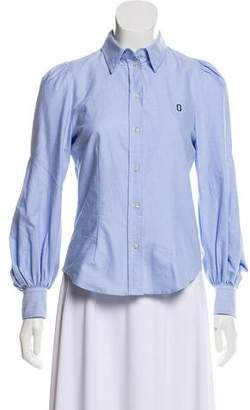 Marc Jacobs Long Sleeve Button-Up Top