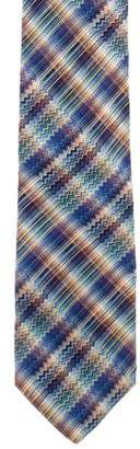 Missoni Silk Chevron Tie