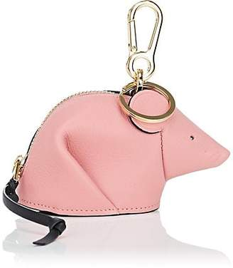 Loewe Women's Mouse Leather Coin Purse Key Chain - Candy