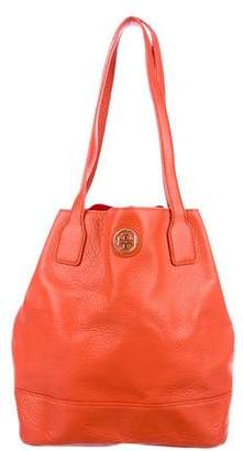 Tory Burch Leather Robinson Bucket Bag