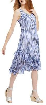 Nic+Zoe Falling Petals Ruffle Dress