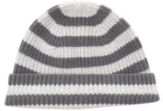 Rag & Bone Striped Rib Knit Beanie