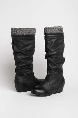 Ardene Tall slouchy wedge boots