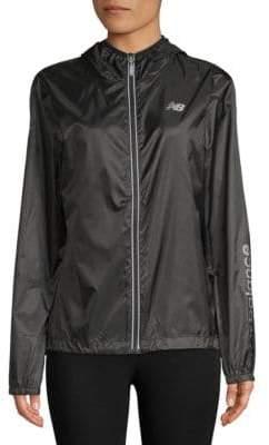 New Balance Classic Hooded Full Zip Jacket