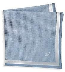 Brioni Men's Diamond Silk Pocket Square