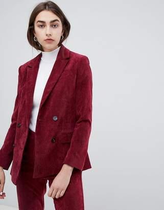 Asos Design DESIGN blazer in cord