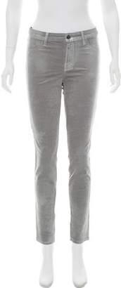 J Brand Mid-Rise Skinny Pants w/ Tags