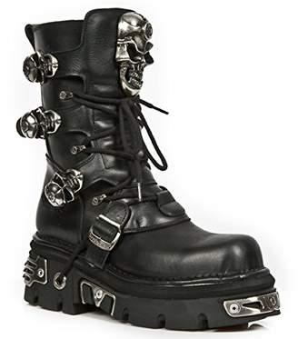 New Rock Leather M.375 S1 Men Metallic Women Ready-Stock Size 48