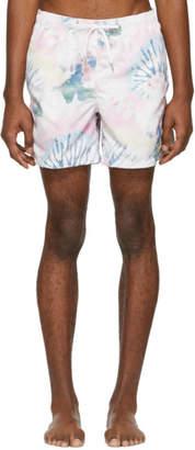 Bather Multicolor Acid Tie-Dye Swim Shorts