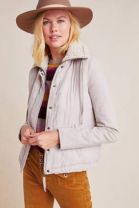Marrakech Tia Quilted Sherpa Jacket