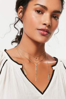 8 Other Reasons X UO Cait Lariat Necklace Set