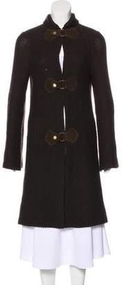 Tory Burch Knee-Length Wool Coat