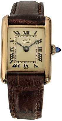 Cartier Tank Must watch