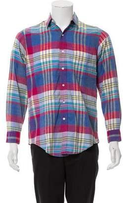Burberry Plaid Nova Check Shirt