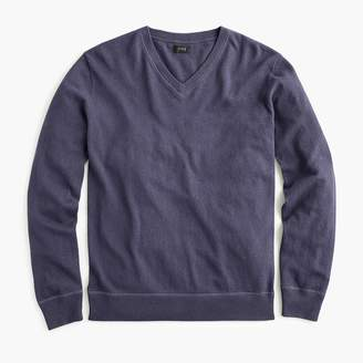 J.Crew V-neck cotton field sweater