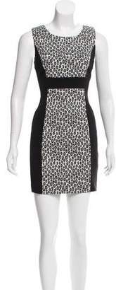 Rachel Zoe Patterned Sleeveless Dress