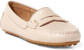Ralph Lauren Belen Leather Loafer $98 thestylecure.com