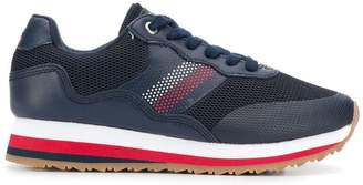 Tommy Hilfiger stripe detail sneakers