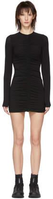 Alexander Wang Black Ruched Dress