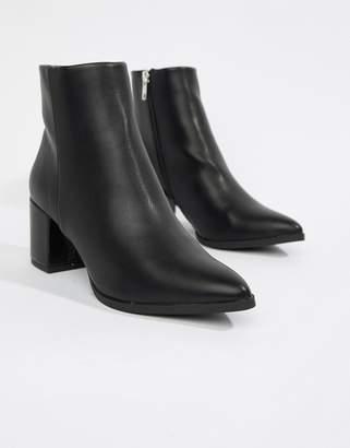 New Look Pointed Block Heel Boot