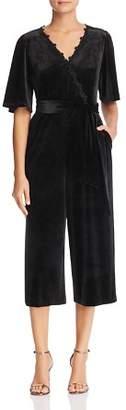 Essie Le Gali Velvet Cropped Jumpsuit - 100% Exclusive