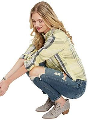 Silver Jeans Women's Kenni Girlfriend Relaxed Skinny Jeans