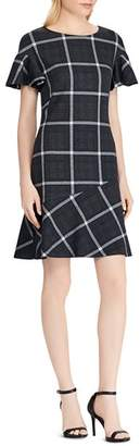 Ralph Lauren Plaid Fit-and-Flare Dress