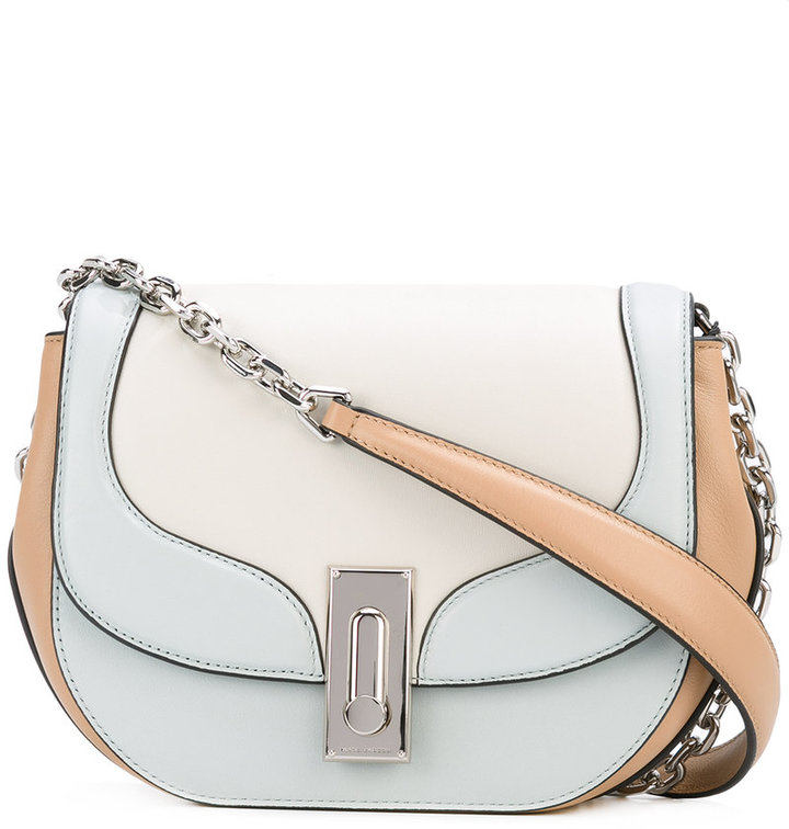 Marc Jacobs Marc Jacobs tricolour West End Jane shoulder bag