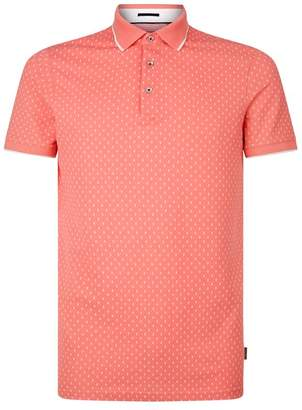 Ted Baker Toff Print Polo Shirt