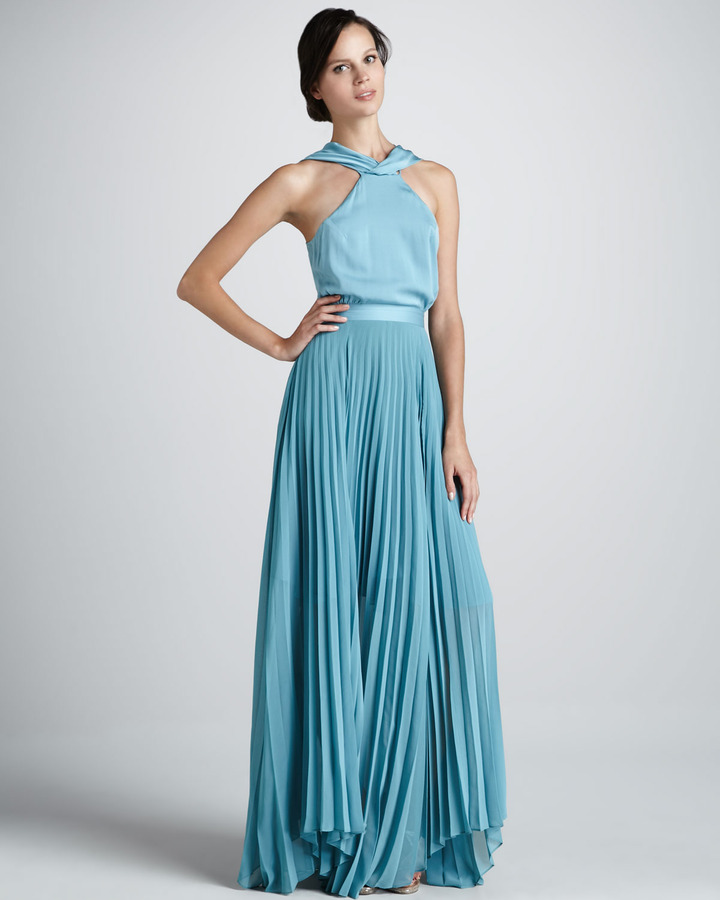 Sachin + Babi Antalya Halter Maxi Dress