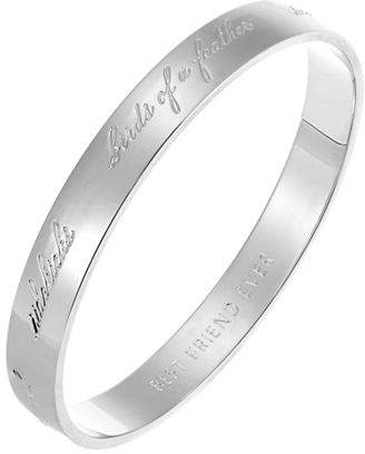 Kate Spade Idiom Bridesmaid Bangle