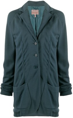 Romeo Gigli Pre-Owned 1997 buttoned relaxed jacket