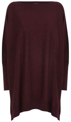 Harrods Crystal Embellished Cashmere Sweater