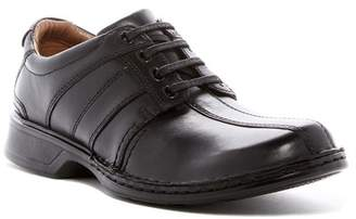 Clarks Touareg Vibe Leather Bike Toe Derby - Wide Width Available