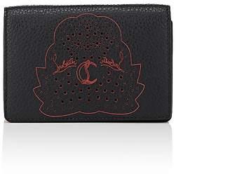 Christian Louboutin Men's Loubeka Leather Business Card Case