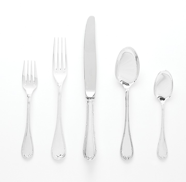 Christofle Rubans Silverplate Flatware by