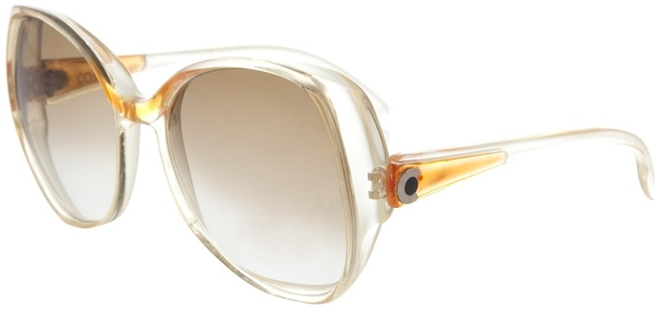 MODE DE VUE Clear rimmed sunglasses