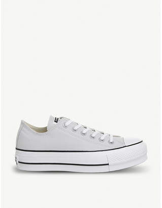Converse Chuck Taylor All Star Lift canvas platform trainers